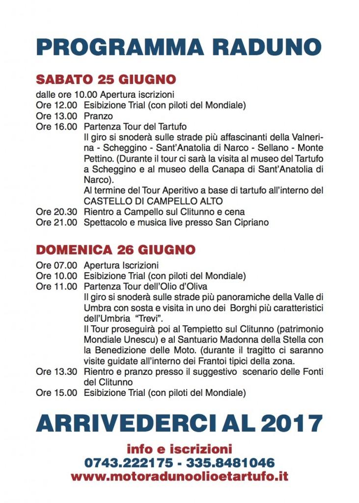 Volantino Olio e Tartufo 2016-2