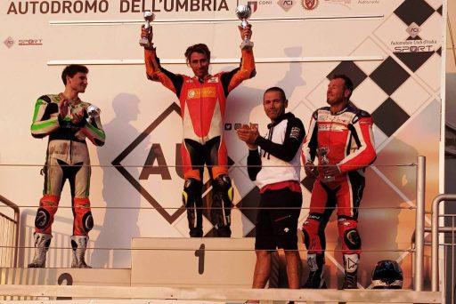 podio 600 TCIV settembre